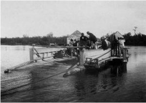 Pont de la Gabarre au 18e siècle